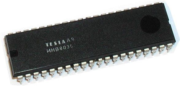 MHB8035 - 8-bit mikropočítač, DIL40