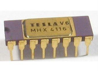 MHX4116 - paměť DRAM 16kb