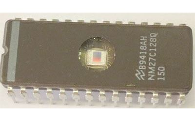 27C128Q 150ns, EPROM CMOS 16K x 8bit