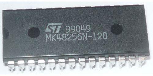 MK48256N - RAM CMOS 32x8kB /ST/