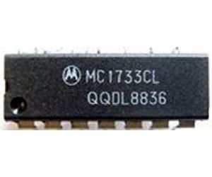 MC1733 - diferenční videozesilovač, DIL14