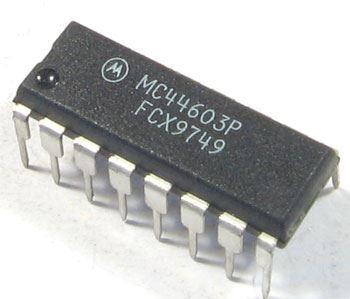 MC44604P - PWM controller, DIL16