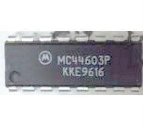 MC44603P - PWM controller, DIL16