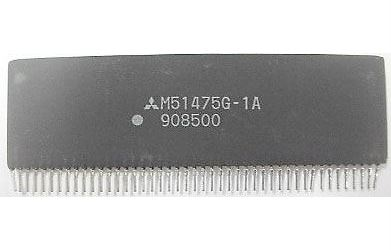 M51475G - hybridní obvod pro VCR
