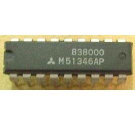 M51346AP - TV obvod, DIL18