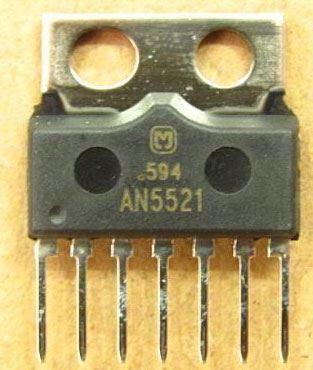 AN5521 - vertikál pro TV