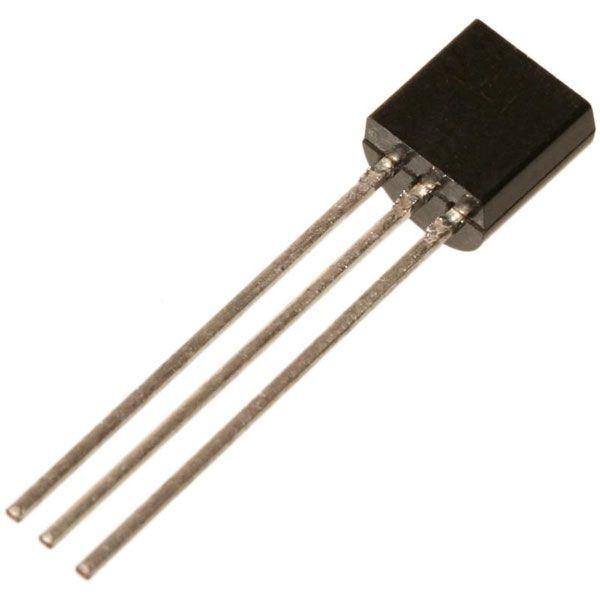 78L05 stabilizátor +5V/0,1A TO92