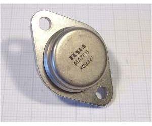 7815  stabilizátor +15V/1A TO3 kov TESLA /MA7815/