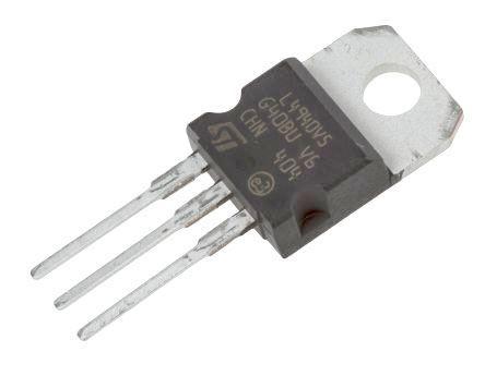 L4940V5  stabilizátor +5V/1,5A TO220, -40°-150°C