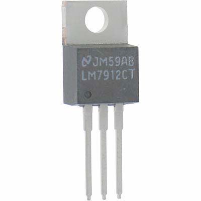 7912  stabilizátor -12V/1,5A  TO220