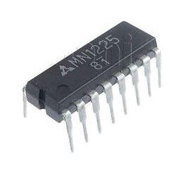 MN1225 EPROM 1024 Bit, TV,VC paměť           DIP16