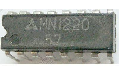 MN1220 - paměť 1024bit ROM, DIP16