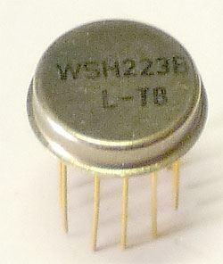 WSH223B - elektrometrický OZ, hybridní IO