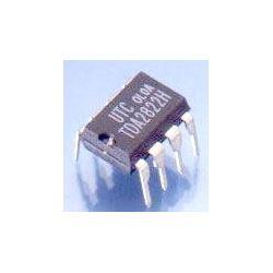 TDA2822 - nf zesilovač 2x0,65W, DIL8