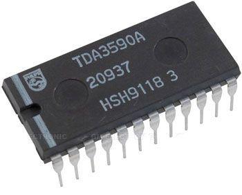 TDA3590A - procesor SECAM, DIP24
