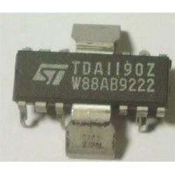 TDA1190Z - zvukový obvod pro TV, QIP12