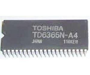 TD6365N - servo pro VCR
