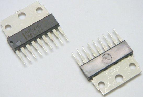 AN5265 - nf zesilovač 2,3W, SIP2-9