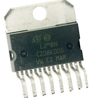 L298N - řízení DC motorů, Multiwatt
