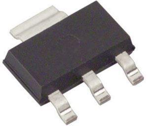 AMS1117-3.3  stabilizátor +3,3V/0,8A SOT-223