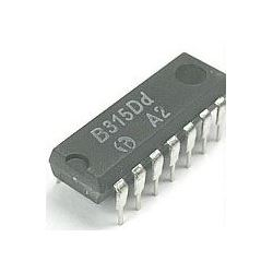 B315D  - tranzistorové pole - 4x tranzistor NPN+PNP, DIL14
