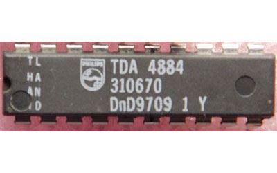 TDA4884 , DIL20