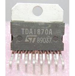 TDA1870A -  vertikální rozklad TV, SQL15