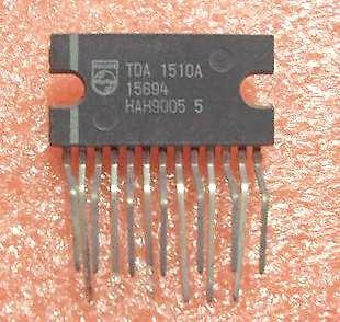 TDA1515A nf zesilovač 2x12W nebo 24W do auta, SIL13