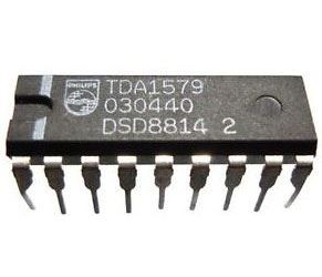 TDA1579 - dekodér dopravního vysílání (VWF), DIL18