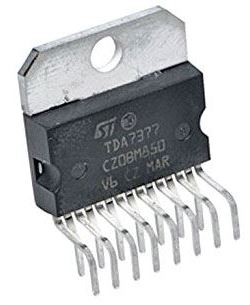 TDA7377V NF zesilovač 2x20W
