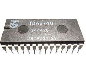 TDA3740 FM modulátor+videoprocesor