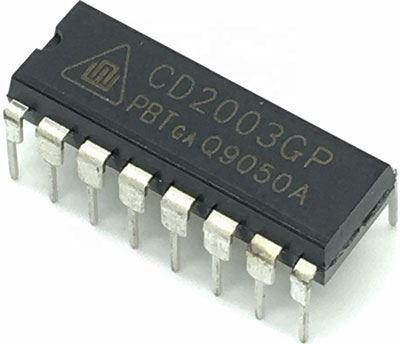 CD2003GP AM/FM přijímač, DIL16