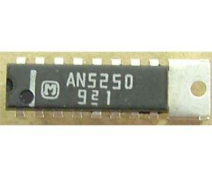 AN5250 - TV zvukový obvod, FM detektor, mf +nf zesilovač