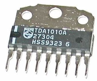 TDA1010A - nf zesilovač 9W SIL9