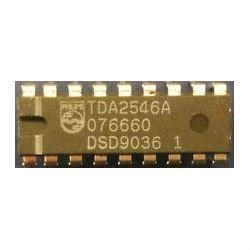 TDA2546A - kvaziparalelní zvuk pro TV, DIL18