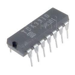 TDA3310 - tranzistorové pole, DIL14