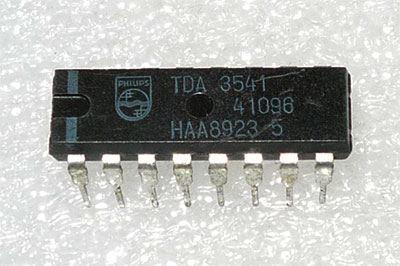 TDA3541 - obvod pro TV, DIL16