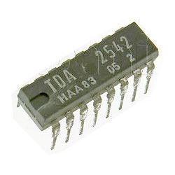 TDA2542 - IF Amplifier+demodulator, IP16