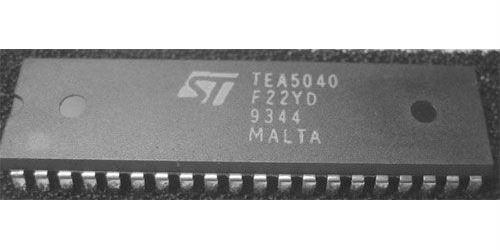 TEA5040 - videoprocesor, DIL40