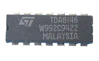 TDA8146 - obvod pro TV, DIP14