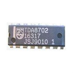 TDA8702 - 8-bit převodník D/A, DIL16