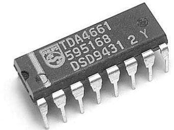 TDA4661 - obvod pro TV, DIP16
