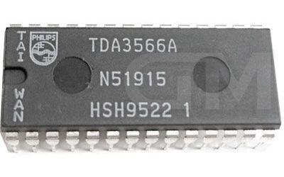 TDA3566 - dekodér PAL/NTSC, DIL28