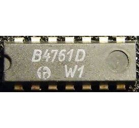 B4761D - 4x OZ s výstupem darlington, DIP14