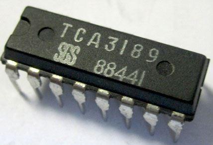 TCA3189- obvod pro FM přijímače