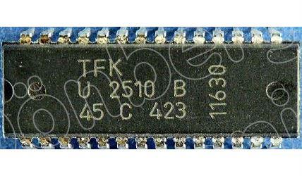 U2510B - AM/FM přijímač + nf zesilovač 1W, SDIP28