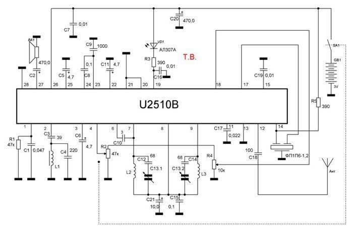 Filtro PIEZO 10,7 MHz 7ms3h-m murata sfe10 CERAMICA ZF Filtro