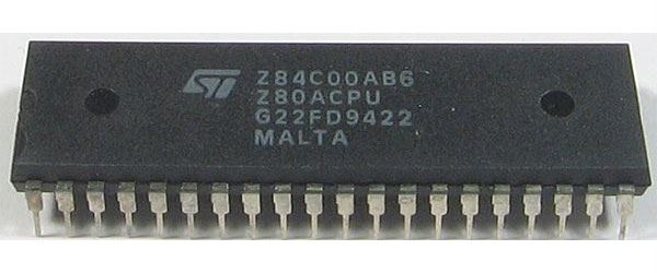 Z80A - 8-bit CPU, ST