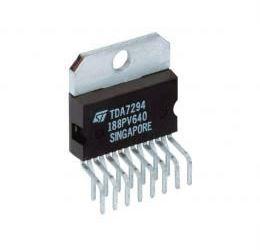 TDA7294V nf zesilovač 100W, U=+-38V MULTIWATT