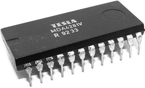 TDA4281V kvaziparalelní zvuková mezifrekvence, DIP24